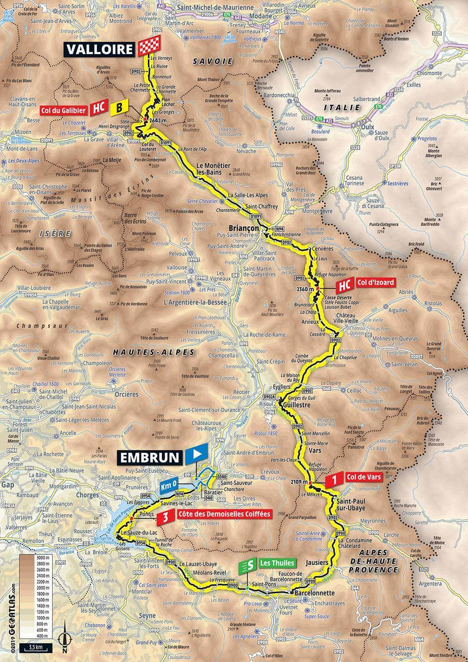 Stage 18 - Embrun to Valloire - Le Loop